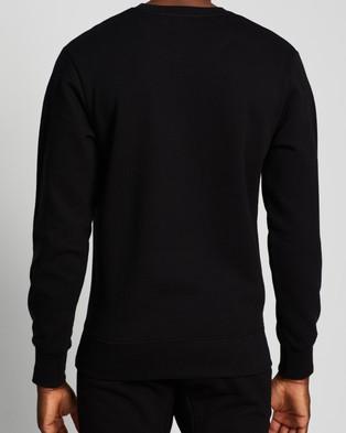 AERE Organic Cotton Crew Sweat - Sweats (Black)