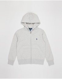 Polo Ralph Lauren - Double-Knit Full-Zip Hoodie - Teens