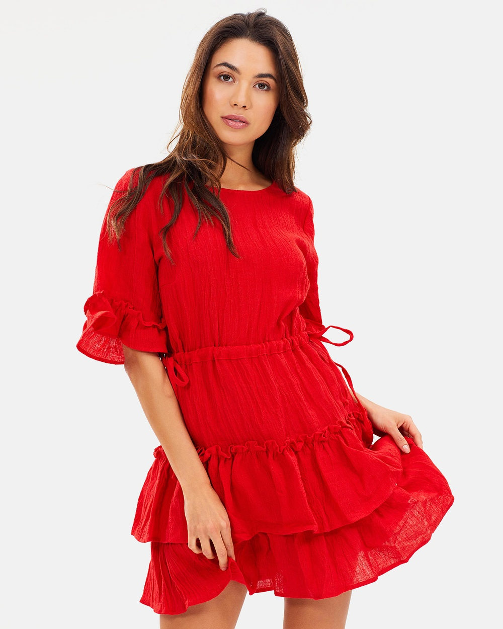 Backstage Gabriella Dress Dresses Red Gabriella Dress