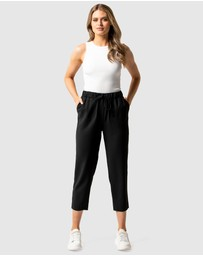 Forever New - Sam Elastic Waist Relaxed Pants