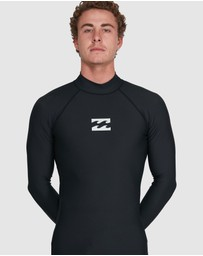 Billabong - All Day Wave Performance Fit Long Sleeve Rash Vest