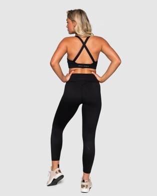 Muscle Republic Inspire 7 8 Leggings - 7/8 Tights (Black)