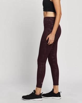 Sweaty Betty Super Sculpt 7 8 Yoga Leggings - 7/8 Tights (Black Cherry Purple)