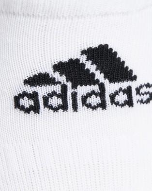 adidas Performance Cush Low Socks   3 Pack - Underwear & Socks (White)