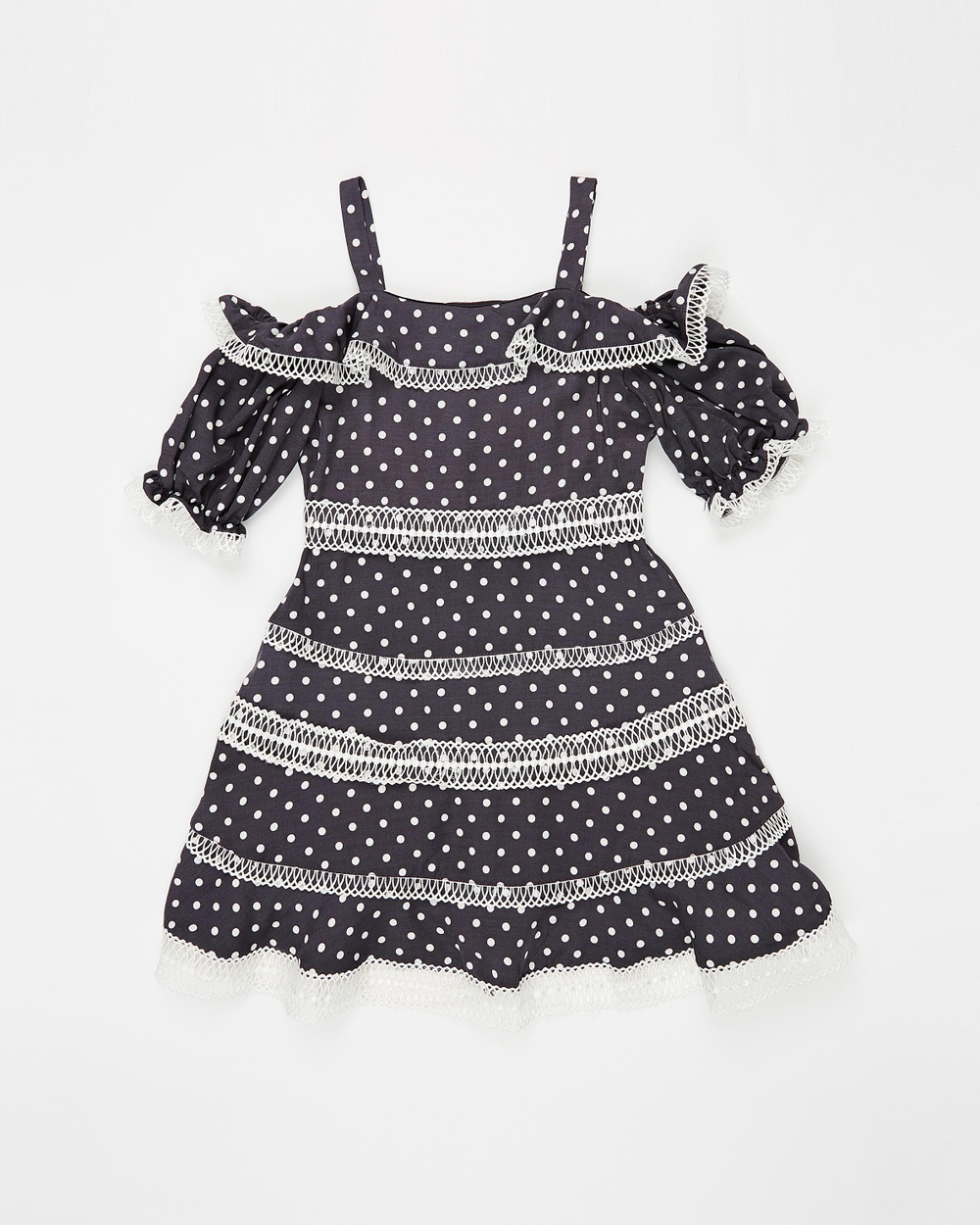 Bardot Junior Charcoal Isola Dress