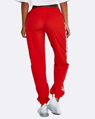 Nicky Kay Logo Track Pants - Sweatpants (Red)