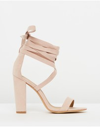 SPURR - ICONIC EXCLUSIVE - Roman Lace-Up Heels