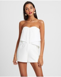 CHANCERY - Romy Draped Playsuit