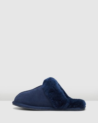 Hush Puppies Cushy - Slippers & Accessories (Midnight Suede)
