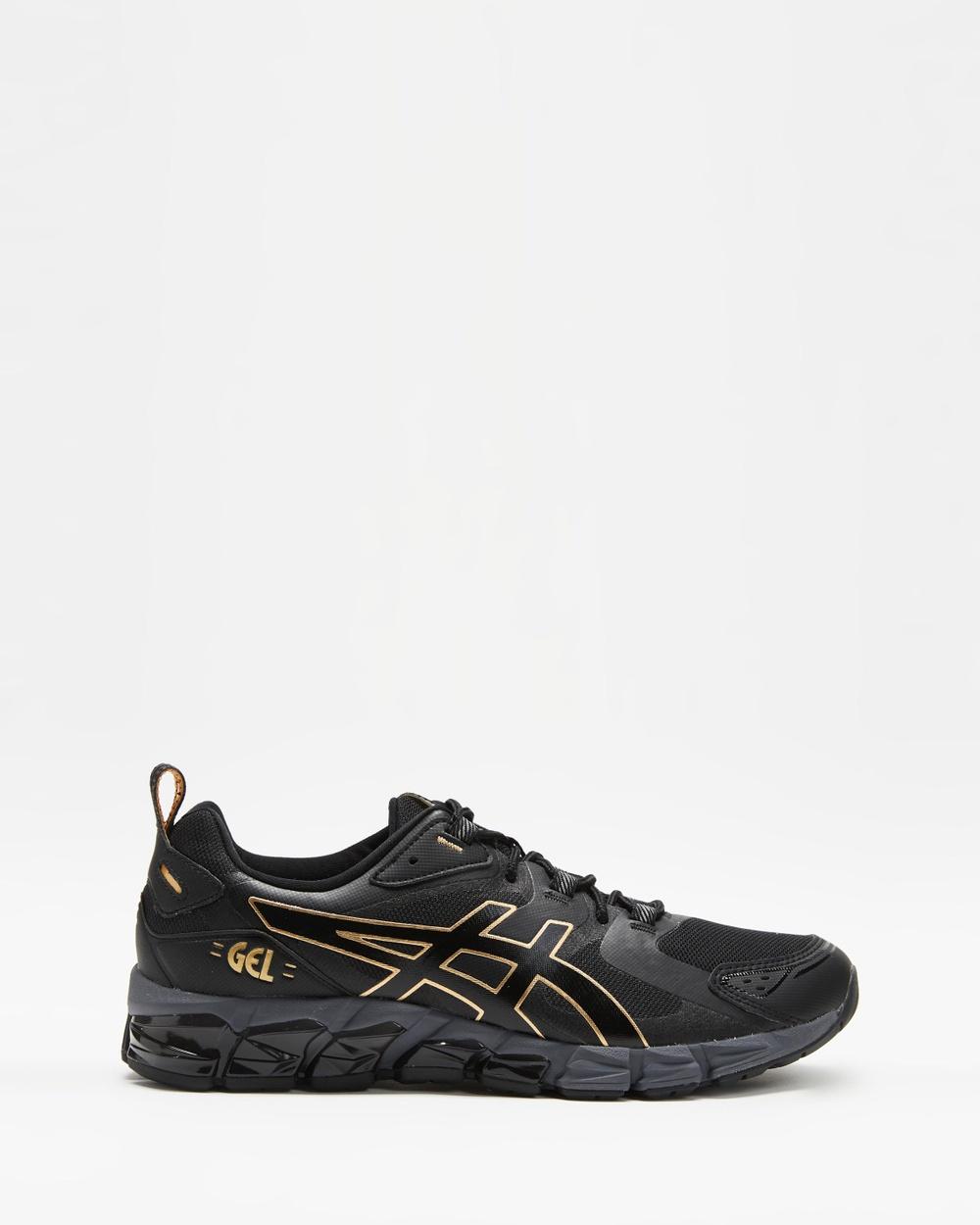 ASICS GEL Quantum 180 Men's Performance Shoes Black & Pure Gold GEL-Quantum Australia