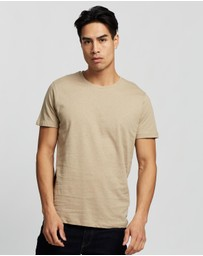 Jack & Jones - Linen Basic SS Crew-Neck Tee