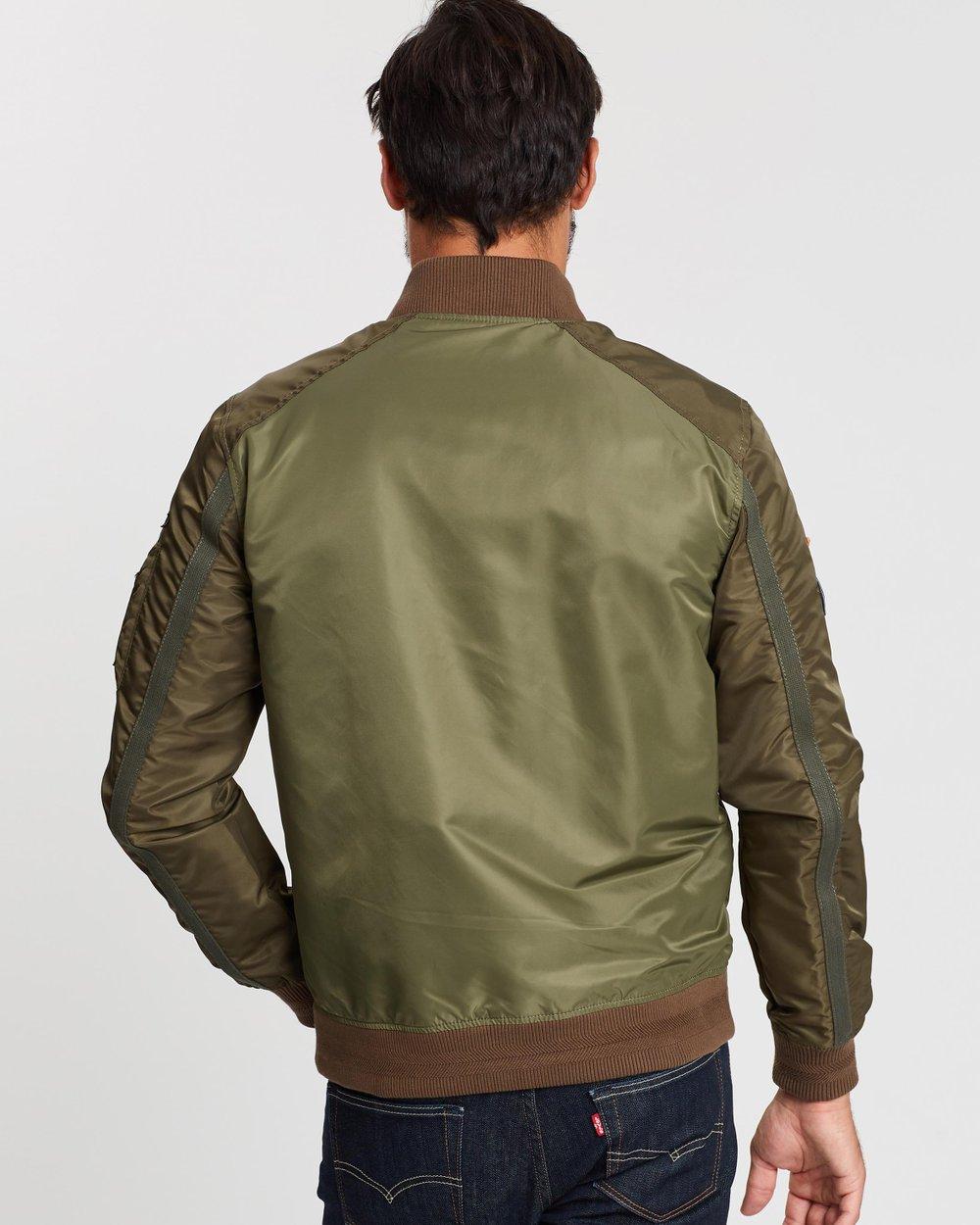 30f1e7d34 Rookie Mixed Bomber Jacket