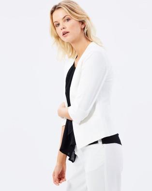 Privilege Pure Synergy Blazer - Blazers (Off White)