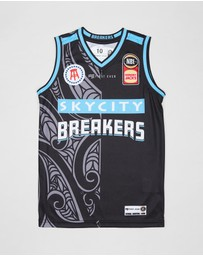 First Ever Kids - New Zealand Breakers Youth Authentic Jersey - Kids-Teen