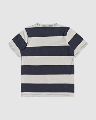 Quiksilver - Boys 8 16 Max Hero T Shirt  - T-Shirts & Singlets (MAX HERO PARISIAN NI) Boys 8-16 Max Hero T Shirt