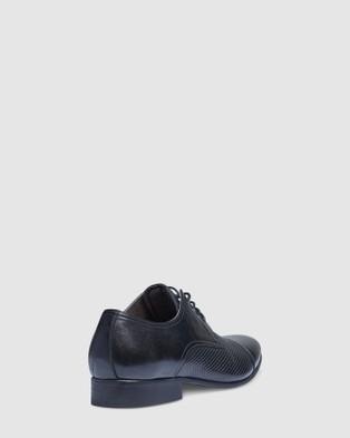 Tarocash Pepe Textured Dress Shoes - Dress Shoes (BLACK)