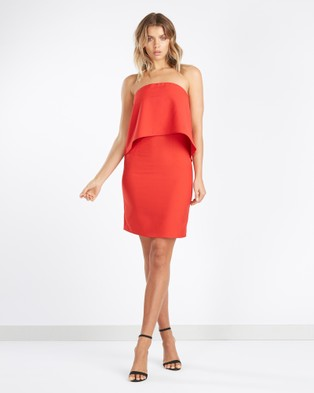 Tussah – Odessa Bandeau Dress Red