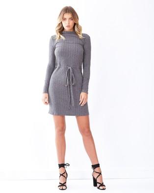 Calli – Emilie Ribbed Knit Dress