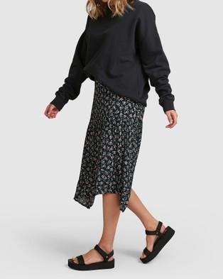 Billabong Bloom Skirt - Skirts (BLACK)