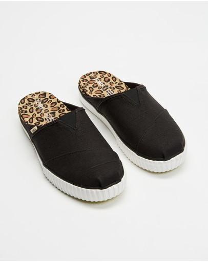 Toms Alpargata Indio Slip-on Sneakers Black