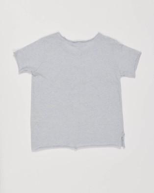 jac & mooki jnr North Tee - T-Shirts & Singlets (CLOUD MARLE)