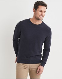Blazer - Mason Cotton Fashion Crew Neck