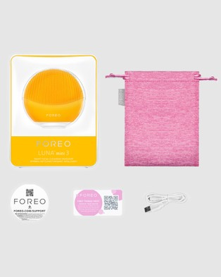 Foreo LUNA Mini 3 Facial Cleansing Massager   Sunflower Yellow - Tools (Yellow)