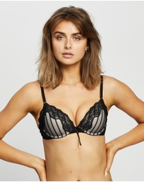 Heidi Klum Intimates - Mesh with Lace Demi Bra