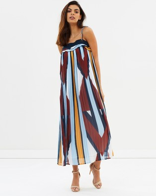 Ministry of Style – Mosaic Muse Pleated Dress – Dresses (Mosaic Muse)