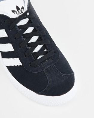 adidas Originals Gazelle Pre School - Lifestyle Shoes (Black/White)