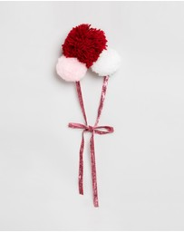 Feather Drum - Pom Pom Headband - Kids