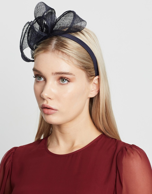 Max Alexander - Twisted Sinamay Fascinator