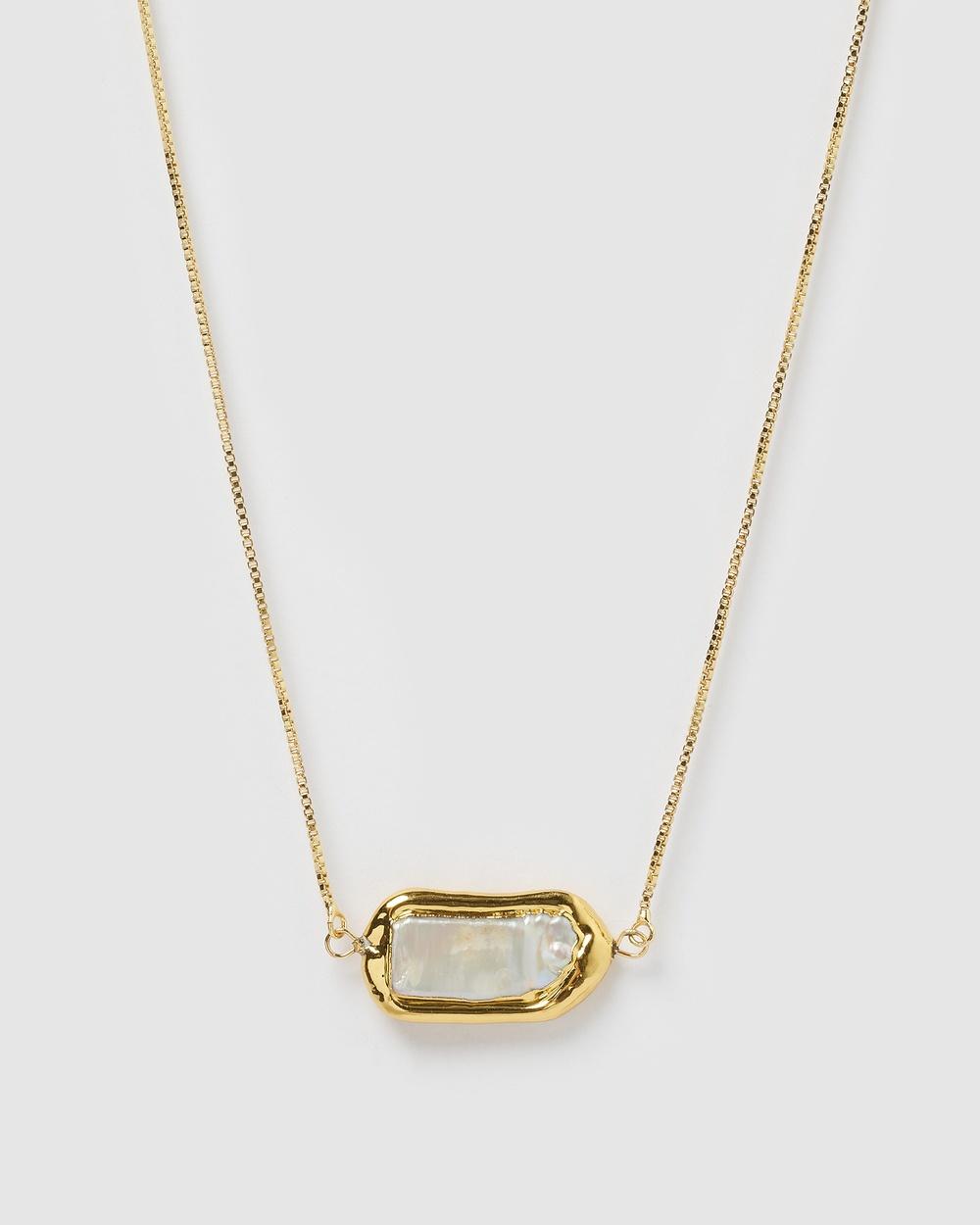 Miz Casa and Co Abigail Necklace Jewellery Gold