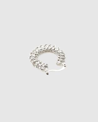 STEVIIE Serpent Earrings - Jewellery (Silver)