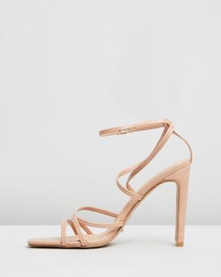 Billini Demi - Heels (Blush Lizard)