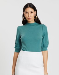 SABA - Coco Puff 1/2 Sleeve Top
