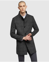 Oxford - Dunbar Check Overcoat