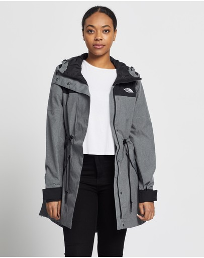 The North Face Metroview Trench Tnf Medium Grey Heather & Black