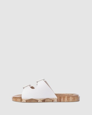 Melissa Melissa Wide Slides - Slides (White)