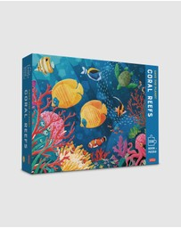 Sassi - Save the Planet Puzzle & Book - Coral Reef, 220pcs