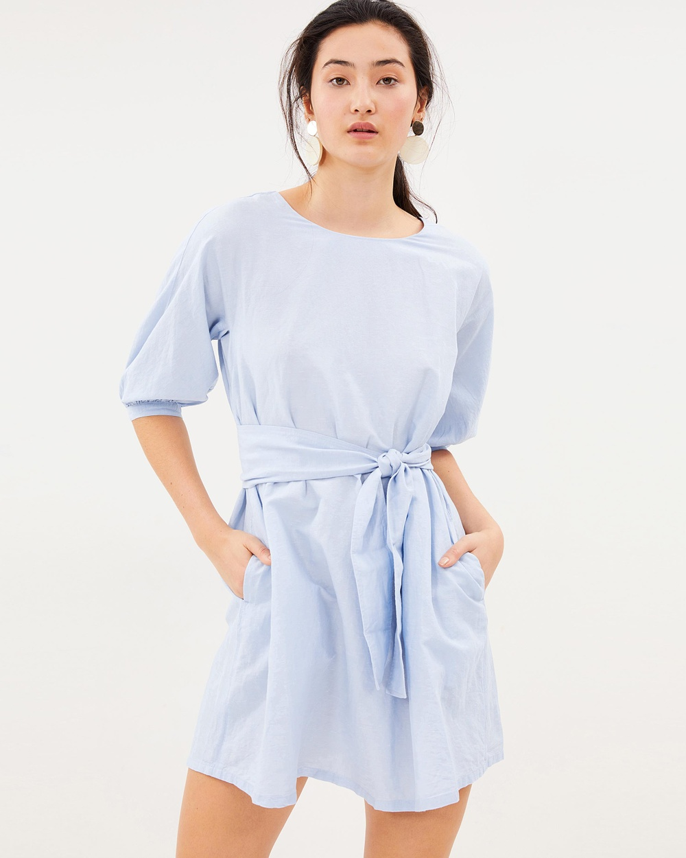 MAX & Co. Delfi Dress Dresses Light Blue Delfi Dress
