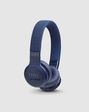 JBL JBL Live400Bt Headphones - Tech Accessories (Blue)