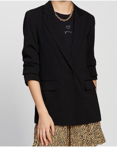 TOPSHOP - Soft Single-Breasted Suit Blazer