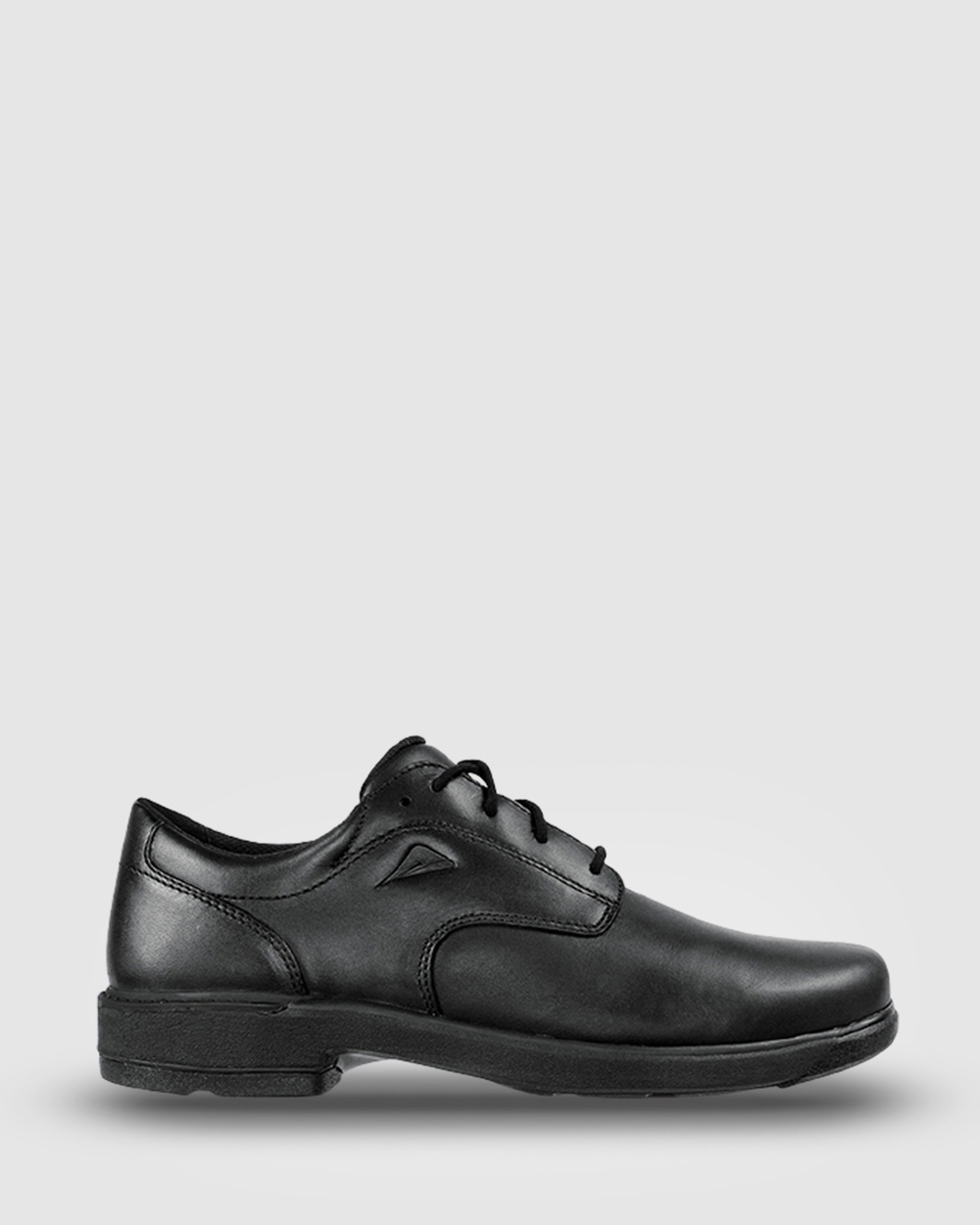 Ascent Scholar 2E Width School Shoes Black Australia
