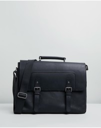 Double Oak Mills - Alfie Leather Satchel