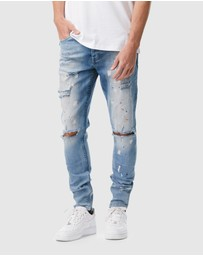 I Love Ugly - Smart Zespy Pants Denim