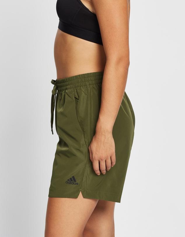 Women Woven Long Length Shorts