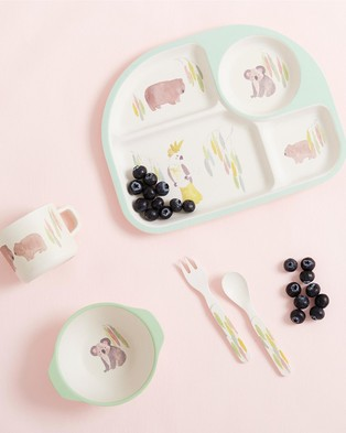 Purebaby Dinnerware Set - Home (Australiana)