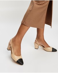 Atmos&Here - Pamela Leather Heels