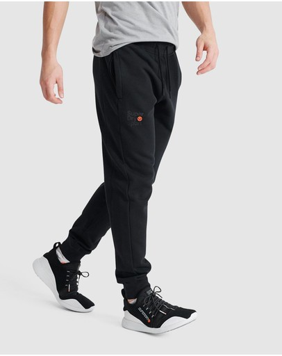 Superdry Sport Core Joggers Black